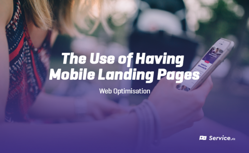 The Use of Having Mobile Landing Pages