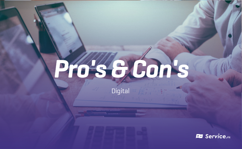 Top pro's & con's of Digital Innovation