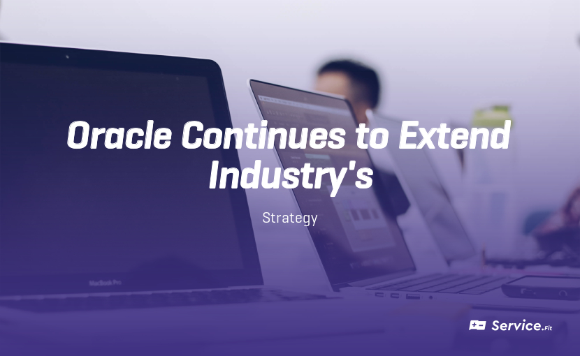 Oracle Continues to Extend its Platform
