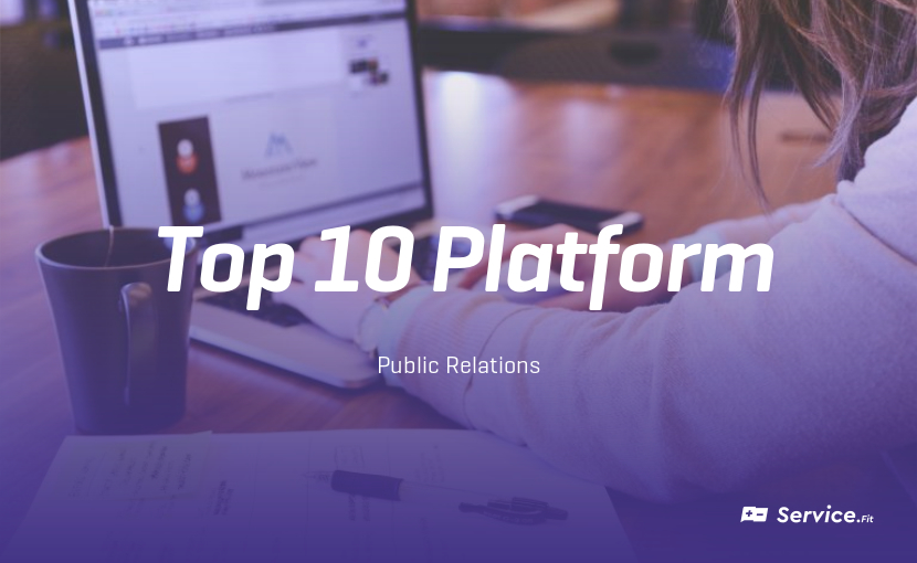 The 10 Best PR-Platforms - Service Fit