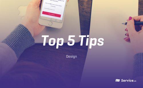 Top 5 tips to Achieve Persuasion in Marketing – Design