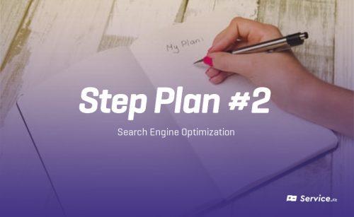 Step Plan #2 – SEO