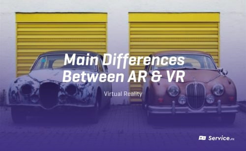 Main differences between AR and VR ?