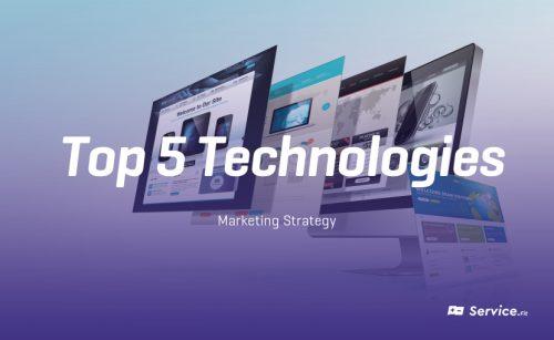 Marketing Technologies: top 5