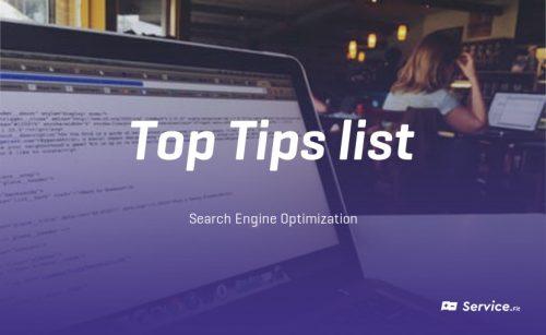 Tiplist of main tools – SEO